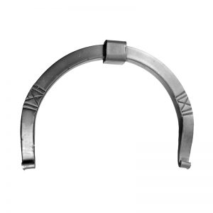 Wall anchor horseshoe